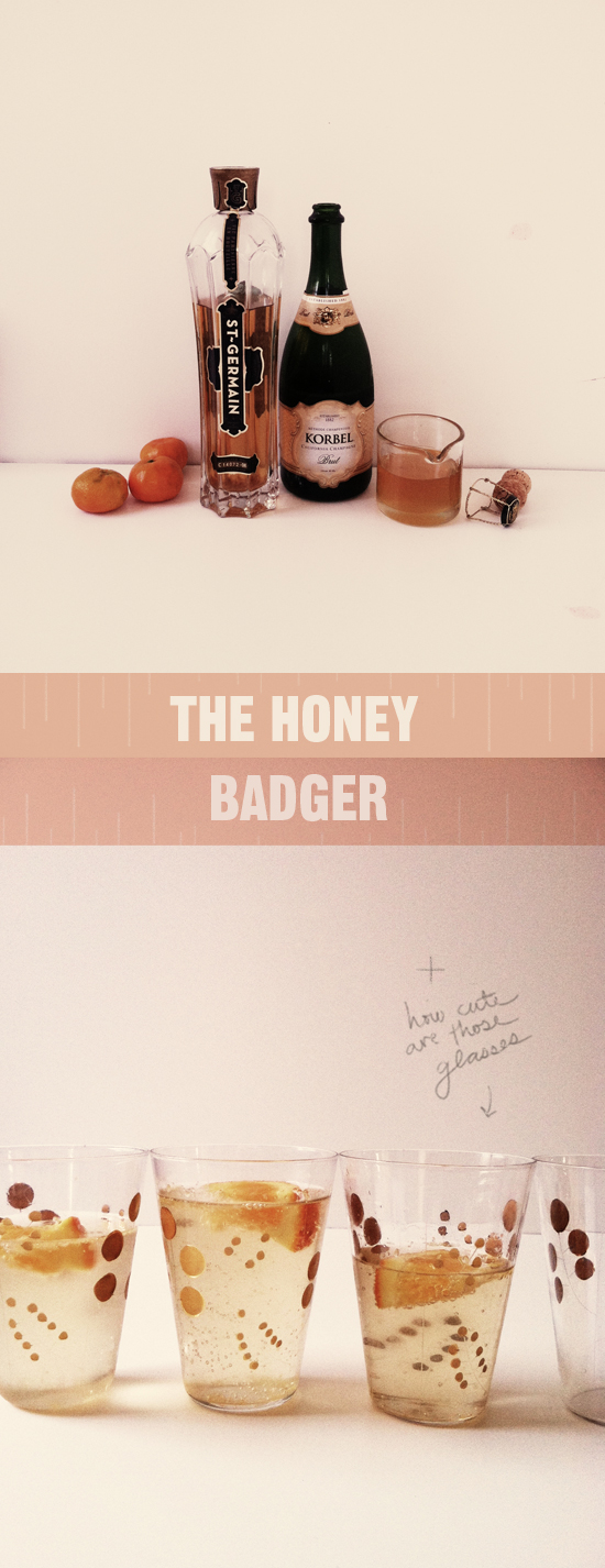 Honey Badger drink recipe...delicious!
