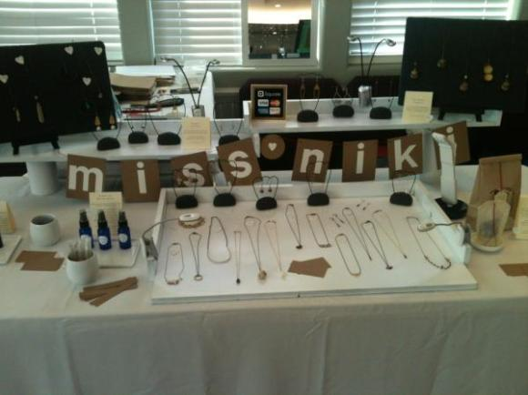 craft fair display